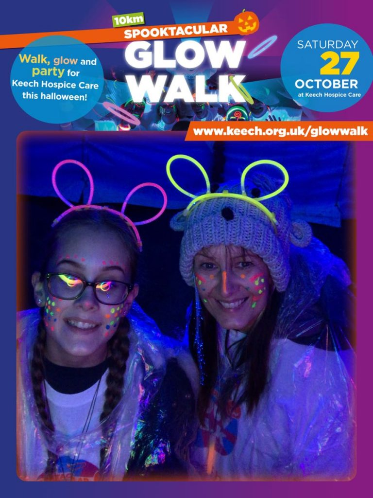 Heverin Glow Walk for Keech Hospice Care