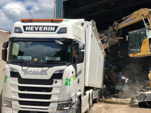 heverin haulage clients